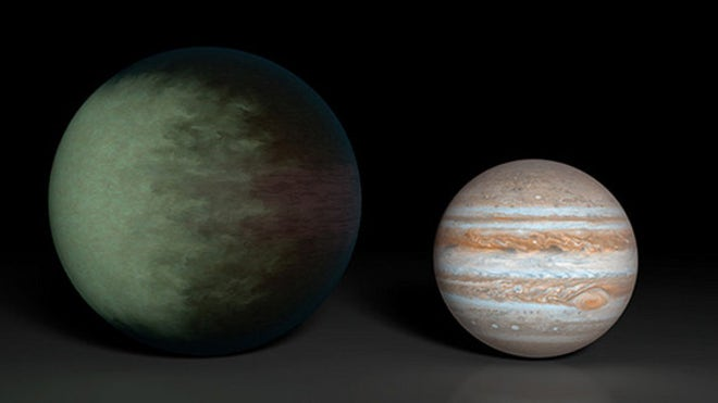 Clouds on alien planet mapped for 1st time