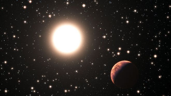 Alien planet found orbiting the Sun's twin