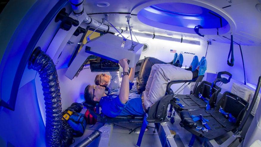 next manned spacecraft interior - photo #2