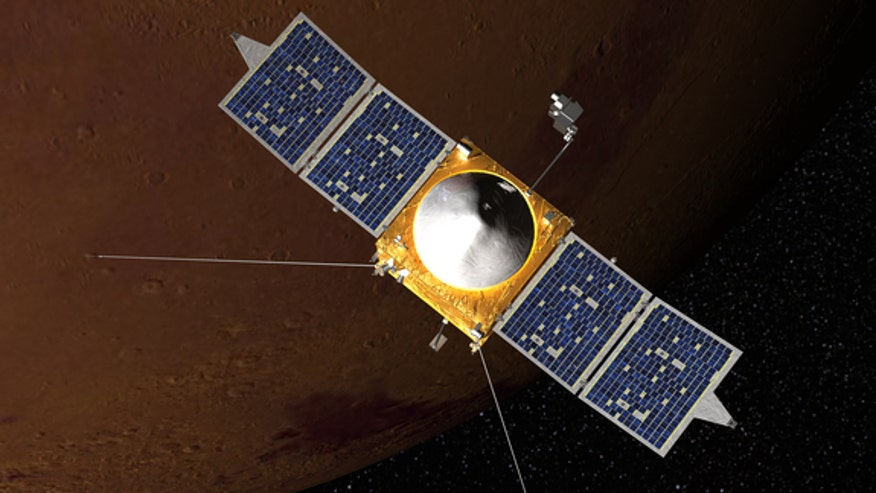 Mars Maven Mission India Maven Mission With Mars