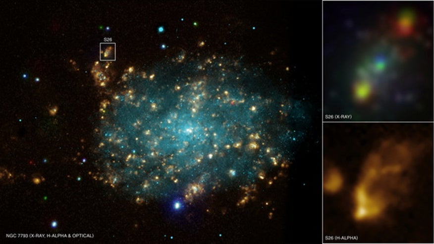 Black hole gas guzzler may explain weird superbright X-rays