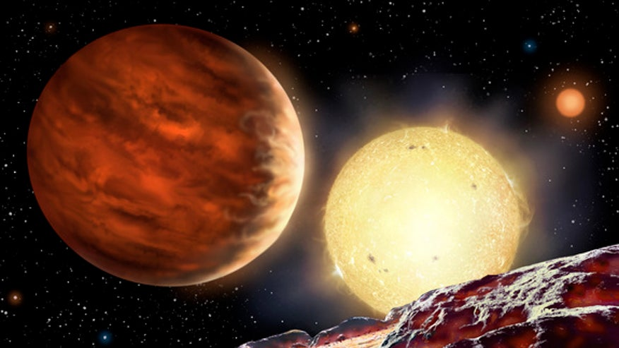 High school student discovers alien planet