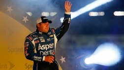 Ryan Newman had the best finish of any of the Stewart-Haas drivers Saturday night…