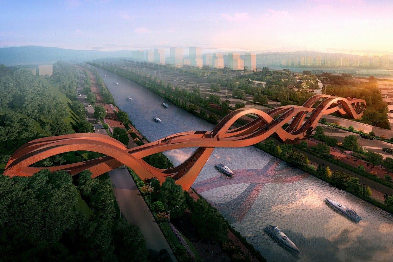 china to build world s most insane bridge fox news. Black Bedroom Furniture Sets. Home Design Ideas