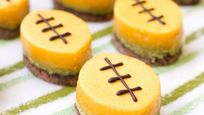 Football-shaped party foods for Super Bowl | Fox News