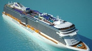 Princess Cruises' new Royal Princess, still under construction, is the biggest Princess ship and the largest cruise ship ever built in Italy. Here's a look inside.
