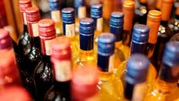 Alcohol theft is on the rise.
