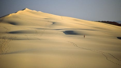 World's record-breaking sand dunes