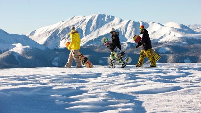 Ski Keystone with kids 2014