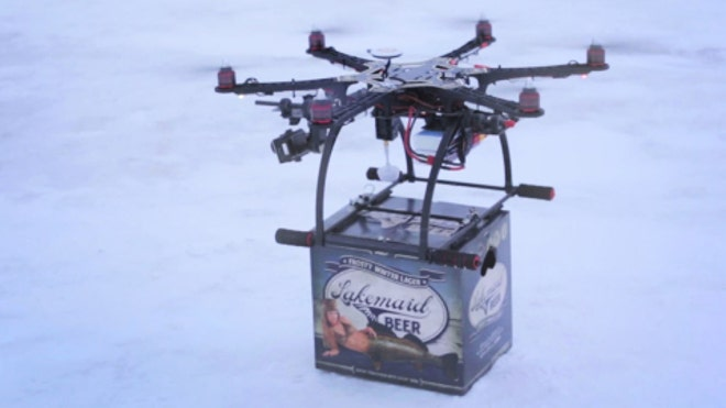 Feds Shoot Down Beer Delivery by Drone