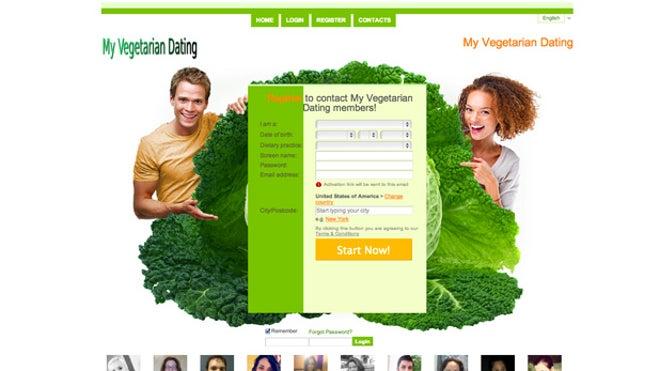 Free vegan dating sites