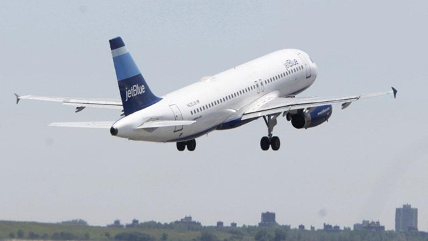 Jet Blue Takeoff