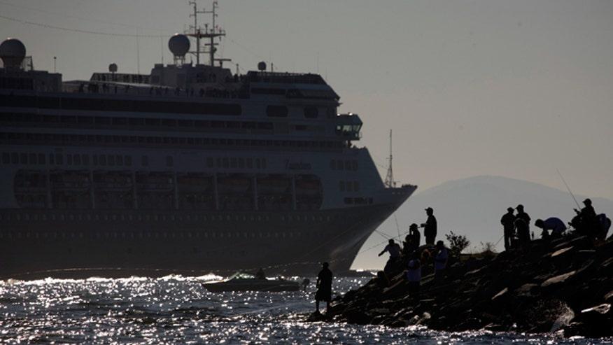 Zaandam Cruise Ship Reuters
