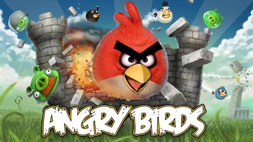 Rovio Angry Birds Logo