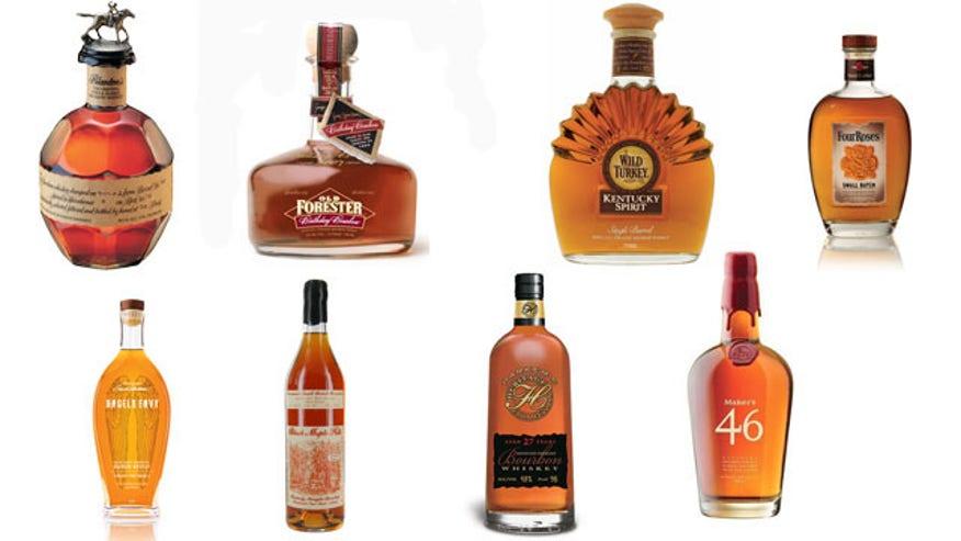 Strong Liquor Brands Brown Liquor is Strong But