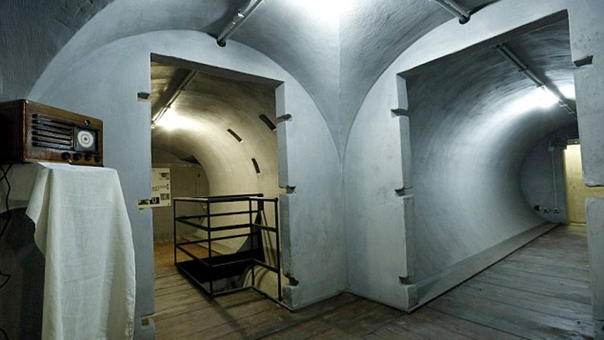Inside Mussolini's wine cellar that become a secret air raid bunker