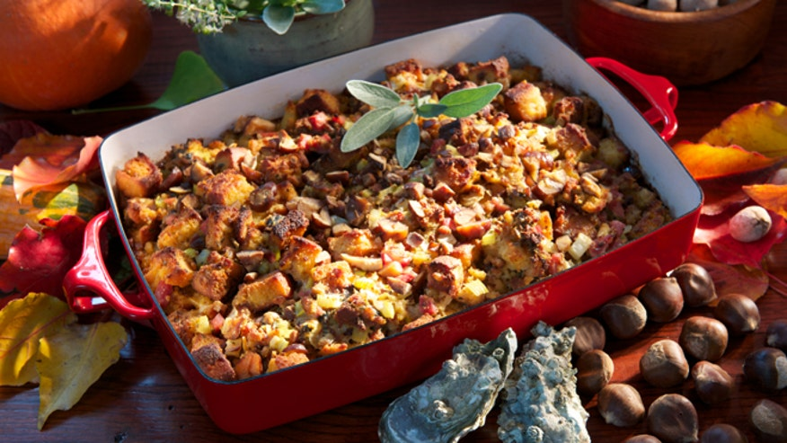 Celebrity chefs offer new takes on Thanksgiving stuffing | Fox News
