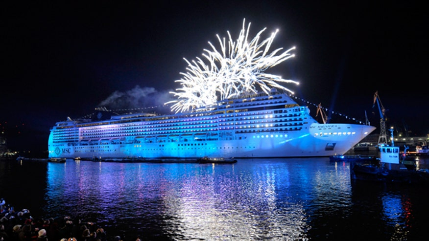 Cruise Ship Fireworks FBN
