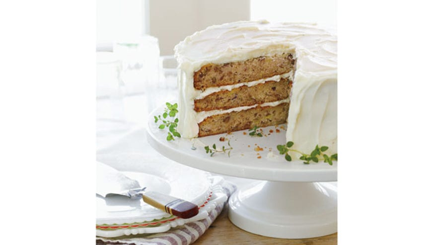 How to make southern vintage fantasy cakes fox news for Table 52 hummingbird cake