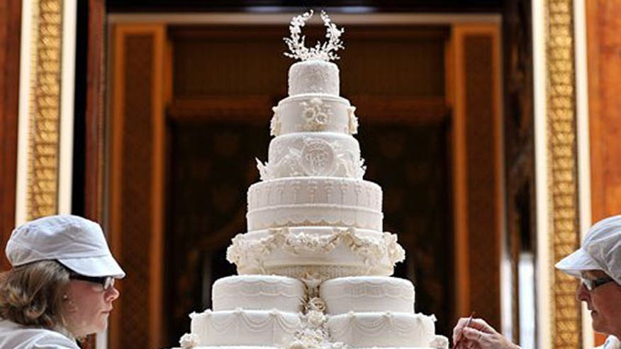 most expensive celebrity wedding cakes fox news