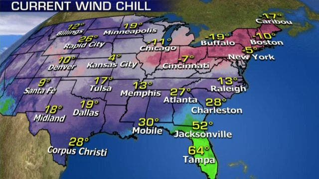 Southeast slogs through rare winter storm as another arctic blast freezes northern US