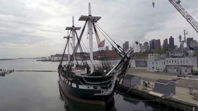 'Old Ironsides' restoration salvages warship's storied history