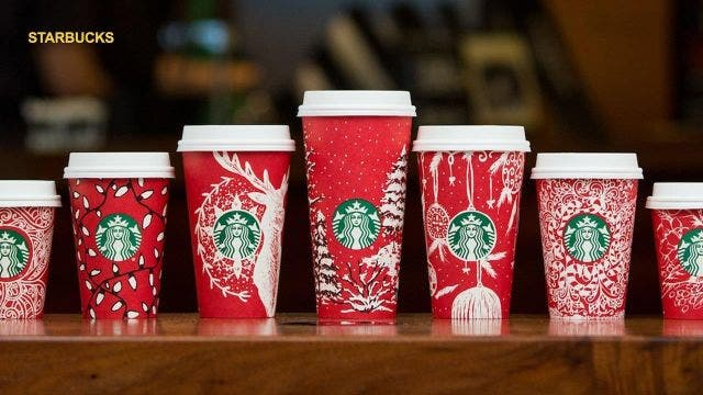 Starbucks spreads holiday cheer with 13 new seasonal cups ...