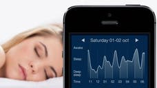Sleep Cycle is an app that wakes you up during your lightest sleep cycle as opposed to jolting you awake awake during deep sleep