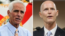 Republican Rick Scott, Florida's incumbent governor was renominated Tuesday night. He will face off against his predecessor – the state's former GOP Governor Charlie Crist – who is now running for another term as a Democrat.