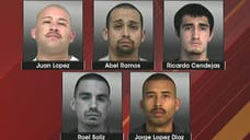 Four of the five inmates who escaped from a California county jail have been recaptured, authorities said.