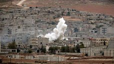 The U.S. military said late Sunday that it had dropped weapons, ammunition, and medical supplies to Kurdish forces battling to hold the Syrian border town of Kobani against Islamic State militants.