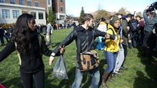 So-called safe spaces -- where students can shield themselves from uncomfortable or dissenting viewpoints -- might be all the rage on colleges campuses, but they would not have been too popular with the founding fathers, say Constitutional law experts.