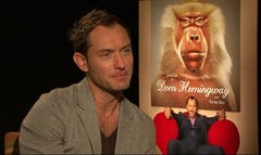 "Jude Law transforms into ""Dom Hemingway"" in the new dark comedy. Law told FOX what bad ""Dom"" habits were hard to shake even when the cameras stopped rolling, plus how much fun he had getting into the crude criminal character."