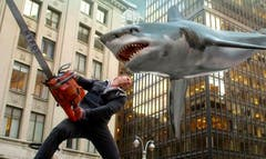 "The sci-fi social media phenomenon ""Sharknado"" is back SyFy Wednesday night with ""Sharknado : The Second One."""