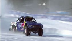The coolest truck racing?