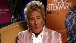 Rock legend Rod Stewart sure has some legs.
