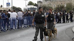 Palestinians carried out two stabbing attacks in Jerusalem on Saturday before being shot dead by police, while another two Palestinians were killed during a violent demonstration near the Gaza border fence, as violence continued to spread following a series of attacks against civilians and soldiers in the past week.
