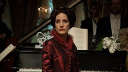 Audiences can watch Jessica Chastain in a haunting role unlike any she's done before in Crimson Peak.
