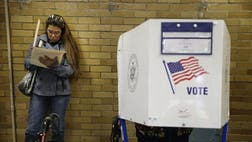 Voters around the country encountered malfunctioning machines, website crashes and delayed polling place openings, but the problems for the most part appeared sporadic rather than systemic and there was no immediate indication that they factored in the outcome of an election.