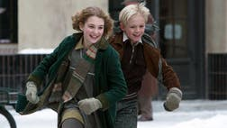 """I sat down with of the The Book Thief's stars and its director, Brian Percival [""""Downtown Abbey""""] to the scoop on the powerful movie."""