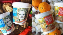 Make America Orange Again and Madame President are the latest flavors from the New York-based creamery.