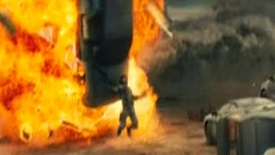 """One part """"Black Hawk Down,"""" one part """"District ,"""" one part pure war-movie cliché, """"Battle: Las Angeles"""" is $-million worth of special effects and bland melodramatics."""