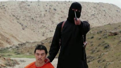 Japanese Prime Minister Shinzo Abe said Sunday he is infuriated by the purported beheading of journalist Kenji Goto by the Islamic State group and vowed to hold the terror group responsible.