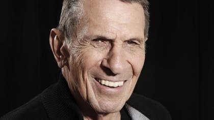 A NASA astronaut on board the International Space Station tweeted a picture Saturday from orbit of a 'Vulcan' hand salute as a tribute to actor Leonard Nimoy, known best for his 'Star Trek' role as 'Mr. Spock.'