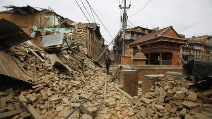 The State Department identified two Americans who died in Nepal's devastating earthquake, and reported two more dead Monday, as the death toll rose past , and survivors dug through the rubble of their villages seeking shelter and food.