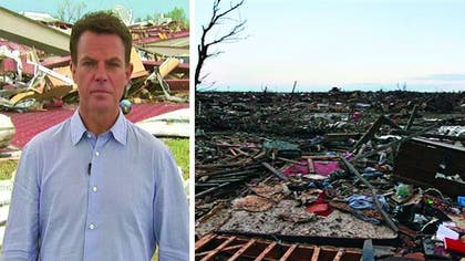 Nearly  hours after a monster tornado tore through a suburb of Oklahoma City, leaving at least  dead -- including nine children -- hopes for a rescue of trapped survivors are beginning to wane as more threatening weather moves into the region.