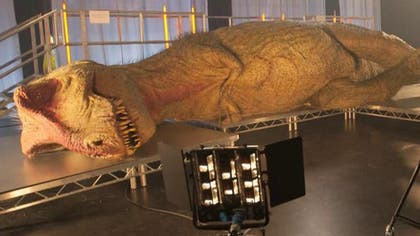 """With """"Jurassic World"""" hitting theaters next weekend, it seems like everyone's got """"dino fever"""" these days. This includes the folks at the National Geographic Channel, who are cashing in on the craze Sunday night with """"T. rex Autopsy,"""" which features a dissection of the world's first anatomically correct synthetic Tyrannosaurus Rex. Performing the autopsy are a veterinary surgeon and three leading paleontologists, including University of Edinburgh Chancellor's Fellow Stephen Brusatte."""