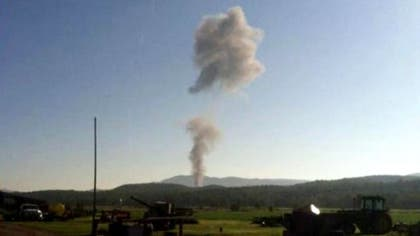 A U.S. Air Force F- fighter jet has crashed in western Virginia, a senior Pentagon official tells Fox News.