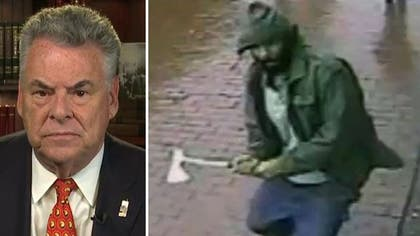 The NYPD is reportedly investigating whether Islamic extremism played a role in Thursday's hatchet attack on city cops.