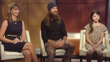 """When the stars of AE's """"Duck Dynasty"""" discovered at  weeks gestation that their youngest daughter would be born with a cleft lip and a possible cleft palate, they hardly knew where to turn."""